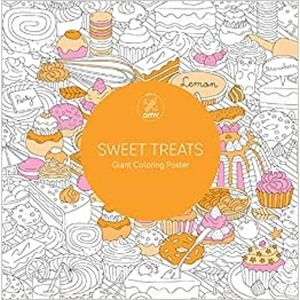 Lark Crafts Sweet Treats Giant Coloring Poster